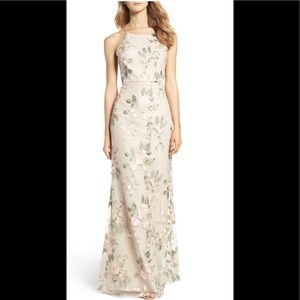 Jenny Yoo NEW! Claire Floral embroidered gown